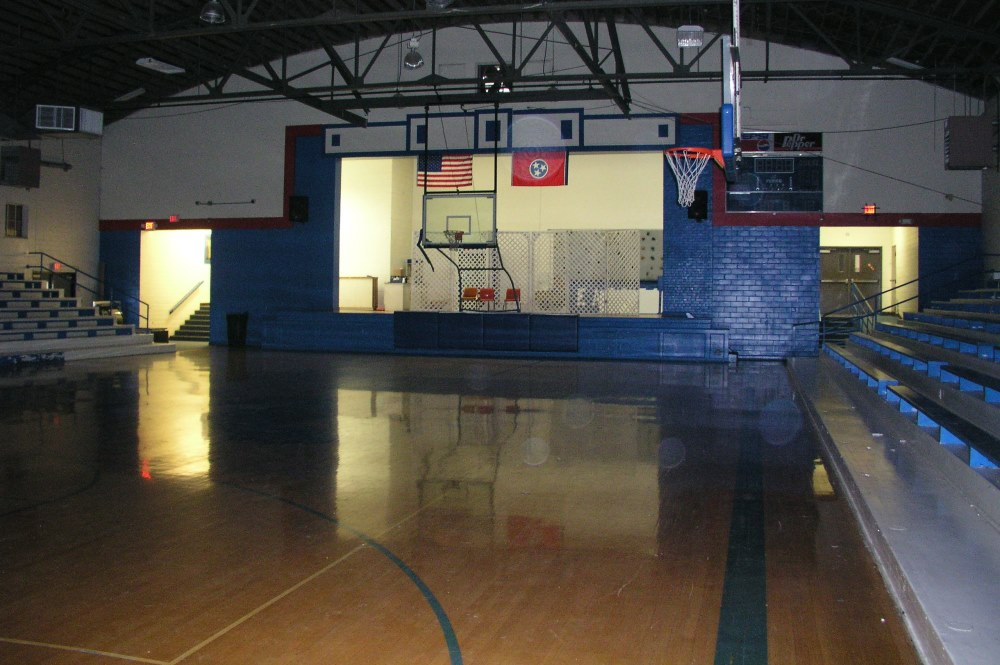 The old gym looks much the same