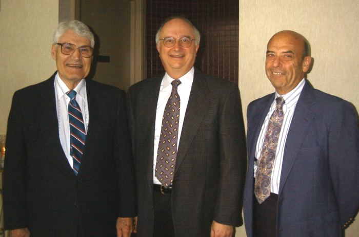 Bill Gaylor, Paul Hartman, and Dr. Hal Sobel