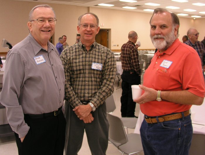 Arnie Kriegler, Richard Carlson, and Jerry Brown