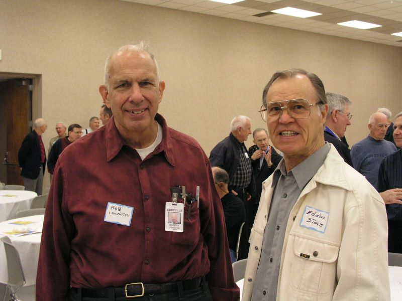 Bob Livingston and Ed Sims