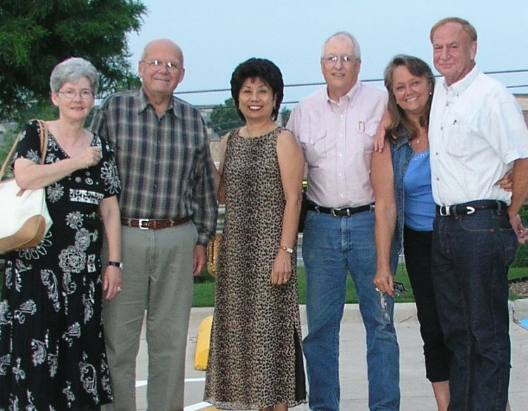 Wendy and John Plant, Angie and Jim Harrison, Connie and Jim Wallner