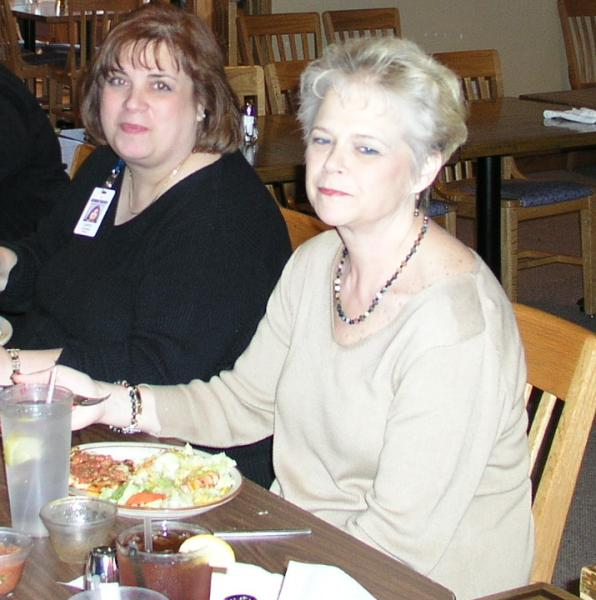 Carol Avenna and Vickie Wright