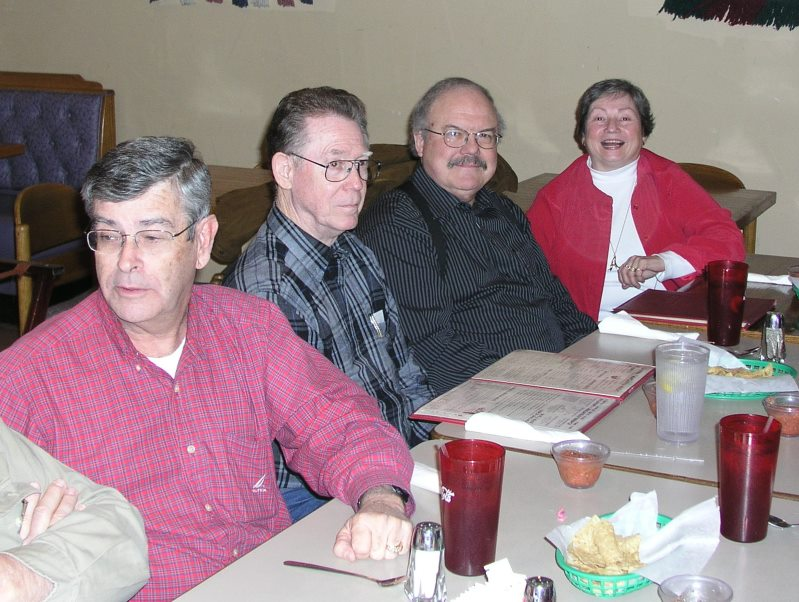 Rex Stephens, Jack Boling, Keith Goldstone and Allegra Burnworth