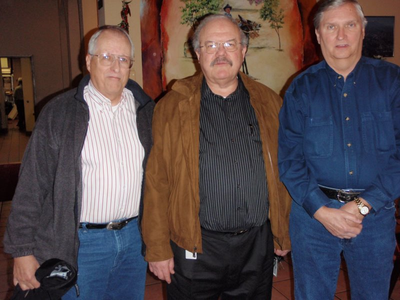 Jim Harrison, Keith Goldstone and George Huling