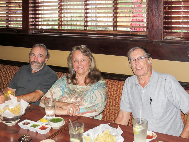 L-R: Chris Whicher, Connie Wallner, and Ken Rogers