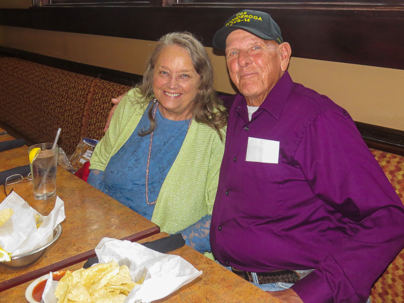 Mike Lewis and Connie Wallner
