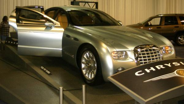 Chrysler's concept car caught our eye