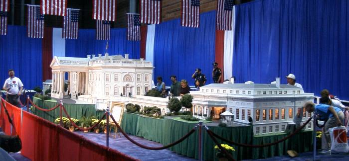 The White House in Miniature