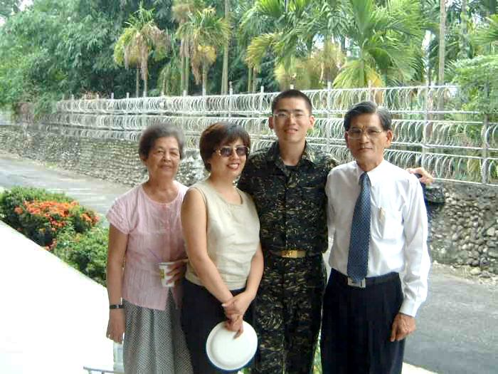 Marine Recruit's day off with family